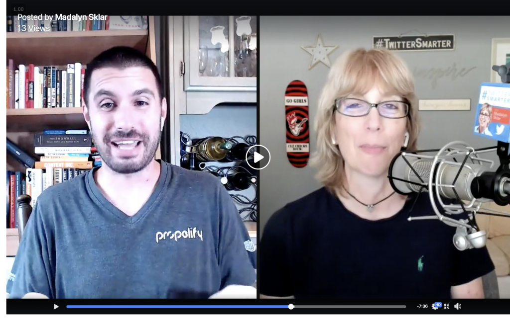 how to use recorded video to grow your business - madalyn sklar